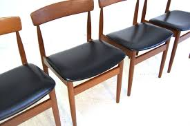 Mid Century Modern Desk For Sale by Chair Mid Century Danish Dining Chairs 1960s Set Of 4 For Sale At