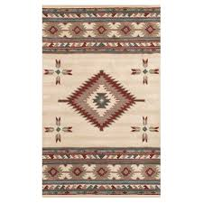 Chandra Rug Chandra Rugs Coral Round Rug In Brown And Cream Ambiance Shag