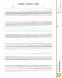 templates for handwriting writing paper free bold line large in spaces lined for pics