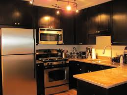 Pictures Of Kitchens With Black Cabinets Black Kitchen Cabinets Rockford Door Style Cliqstudios
