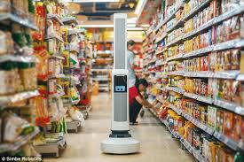 Seeking Robot Date Meet Tally The Stocktaking Robot That Keeps Shelves Fully Stacked
