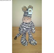 purchase new jellycat merryday zebra plush soft hug collectable