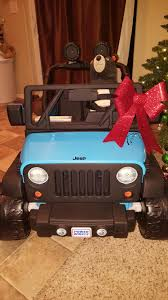 power wheels jeep wrangler repainted a jeep power wheels for my son for christmas had to