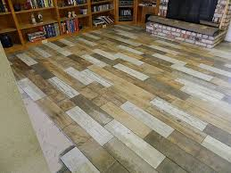 how to lay a reclaimed wood look porcelain floor tile