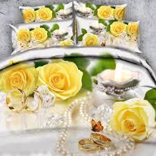 royal linen source brand 3 parts per set romantic red rose bouquet