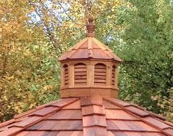 Images Of Cupolas Red Cedar Octagon Cupola