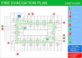 fire evacuation floor plan fire evacuation plans original cad solutions