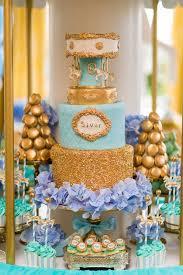 carousel baby shower golden carousel babyshower cake baby shower chic theme