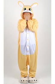 yellow rabbit halloween costume 4kigurumi com