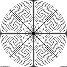 geometrip com free geometric coloring designs circles
