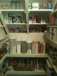 we added shelves to the back wall of our walk in pantry we were