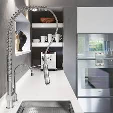 exquisite kitchen faucets merge italian design with elegant convenient stainless steel kitchen faucet with a dual spray outlet