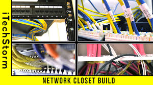 network rack closet build home area network youtube