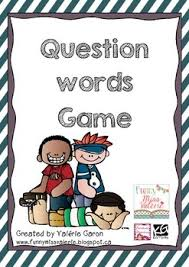 question words game 1 word games esl and lesson plans