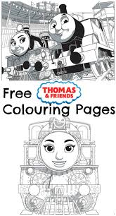 thomas u0026 friends race colouring pages playroom