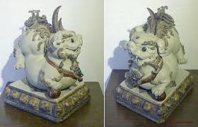 lion dog statue 14 pair feng shui foo dog lion statue figurine