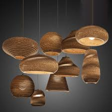 Paper Lantern Pendant Light Vintage Rural Paper Honeycomb L Bra Pendant Lights Lshade