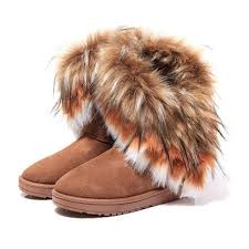 s boots with fur s boots fashion boots autumn winter toe solid