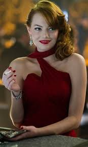 emma stone gangster squad 50s hair make up she s perfect in this style of hair