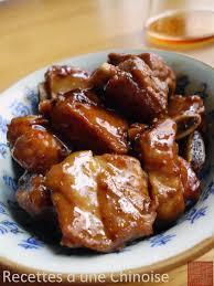 cuisine chinoise porc recettes d une chinoise travers de porc hongshao le braisage