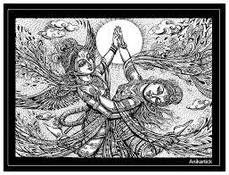 lord krishna and goddess radha divine love art pen d u2026 flickr