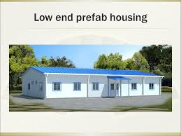 prefabricated houses steel structure prefab house system ppt