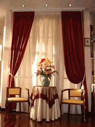 tende per sale da pranzo tende per sala da pranzo classica tende salotto lino pics photos