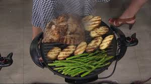 george foreman 15 serving indoor outdoor grill w cover u0026 recipes