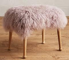 design crush fur stools homeagination