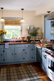 Kitchen Country Design by Best 25 Blue Country Kitchen Ideas On Pinterest Spanish Kitchen