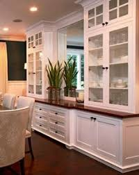Dining Room Builtins Could Also Work As An Entertainment - Built in cabinets for kitchen