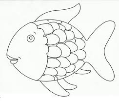 fish with scales round coloring pages for kids cdc printable