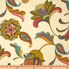 covington savannah paisley cream discount designer fabric