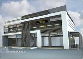 3 Storey Commercial Building Floor Plan by 2 Storey 8 Units Commercial Building By J J S Architectural