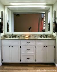 Custom Built Bathroom Vanities Amusing Built In Bathroom Vanities Vanity With Linen Closet Design