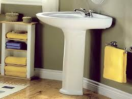 Bathroom Pedestal Sinks Ideas 13 Pedestal Sink Storage Organizer Homeideasblog Com