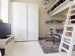 hochbett mit sofa drunter hochbetten für erwachsene gute idee für kleine wohnung