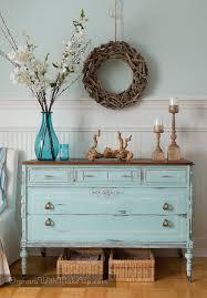 Dressers For Makeup Best 25 Blue Chalk Paint Ideas On Pinterest Blue Painted