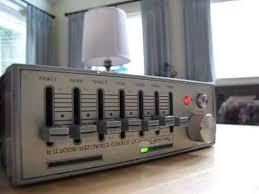 vintage car stereo tancredi te 100 stereo equalizer booster 1980 u0027s