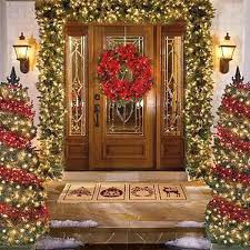 Christmas Decorations For Outside Door by Noel Decorations Christmas U2013 Decoration Image Idea