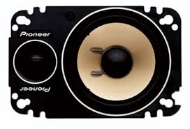 pioneer 4x6 ts p462 4 x 6 2 way component plate speaker with 150 watts