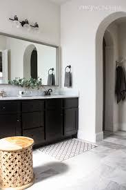 Framing Bathroom Mirrors Diy Framed Bathroom Mirror Wonderful