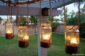 How To Mason Jar Chandelier Diy Outdoor Mason Jar Chandelier Diy Inspired