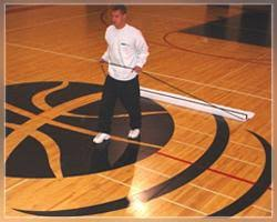 Mop For Hardwood Floors The Best Way To Clean Gym Hardwood Floor Hardwood Flooring Mop