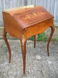 bureau de rosewood inlaid bureau de dame 91320 sellingantiques co uk