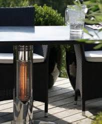 Patio Table Heaters Outdoor Table Heating Safe To Touch Patio Heater Danish Design