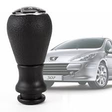 amazon com new car gear shift chrome knob stick for peugeot 106