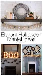 10 elegant halloween mantel ideas design dazzle