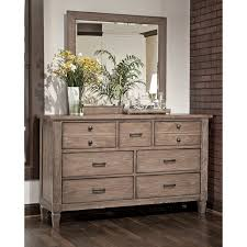 legacy classic brownstone village 3 drawer nightstand aged