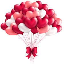 valentine heart balloon clip art free u2013 clipart free download